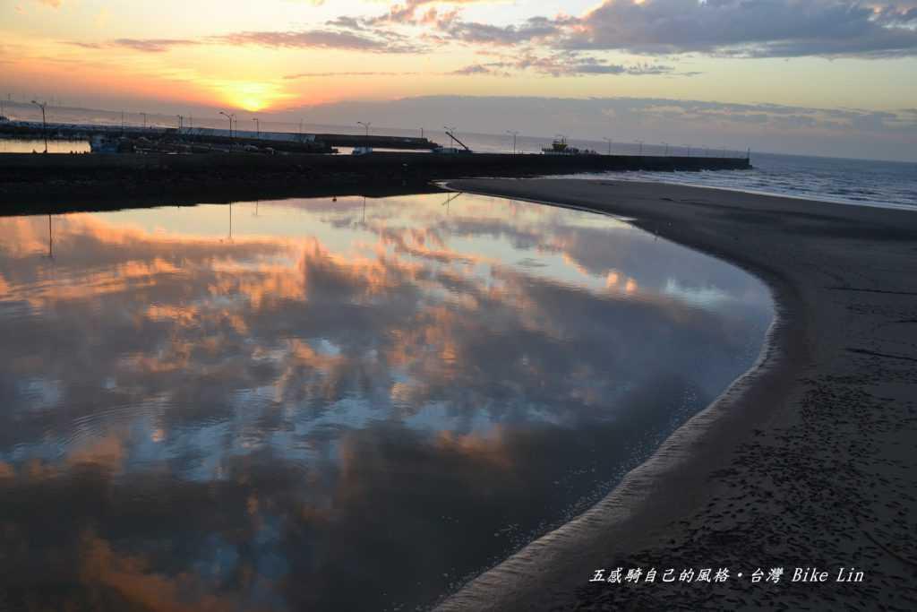冷水坑溪口水彎上「龍鳳港夕照」
