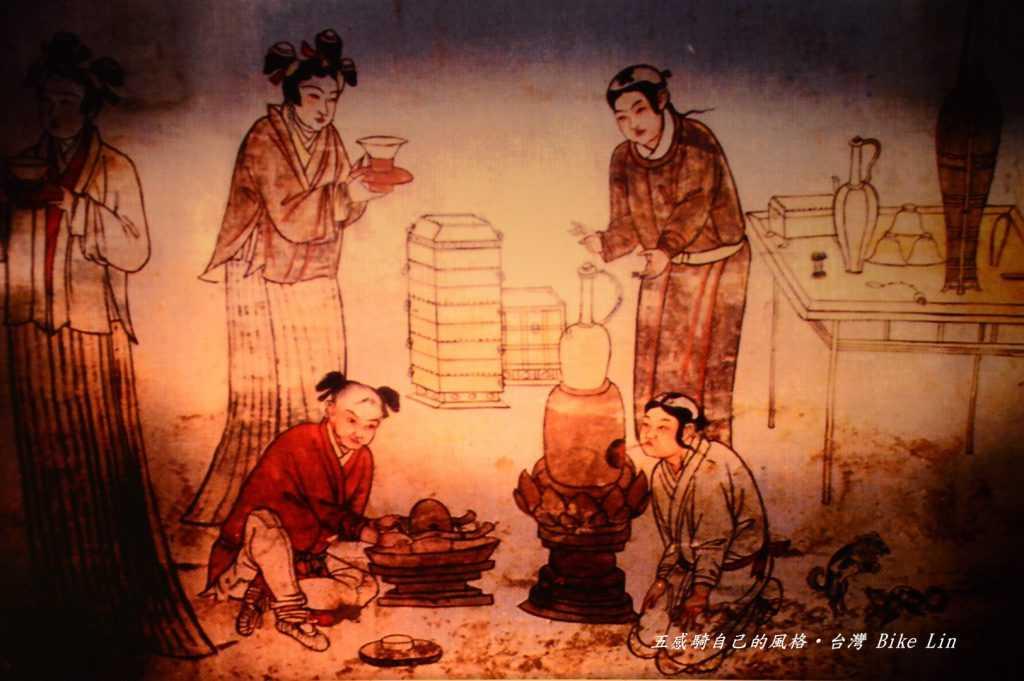 世界最早茶畫說明