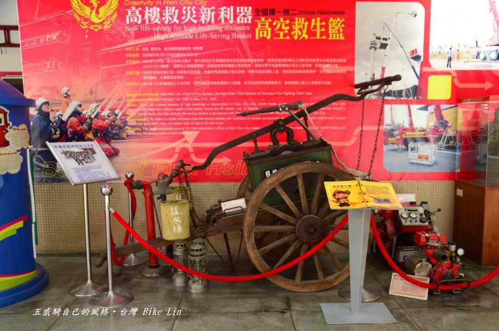 日治時期新竹消防博物館鎮館古老消防車