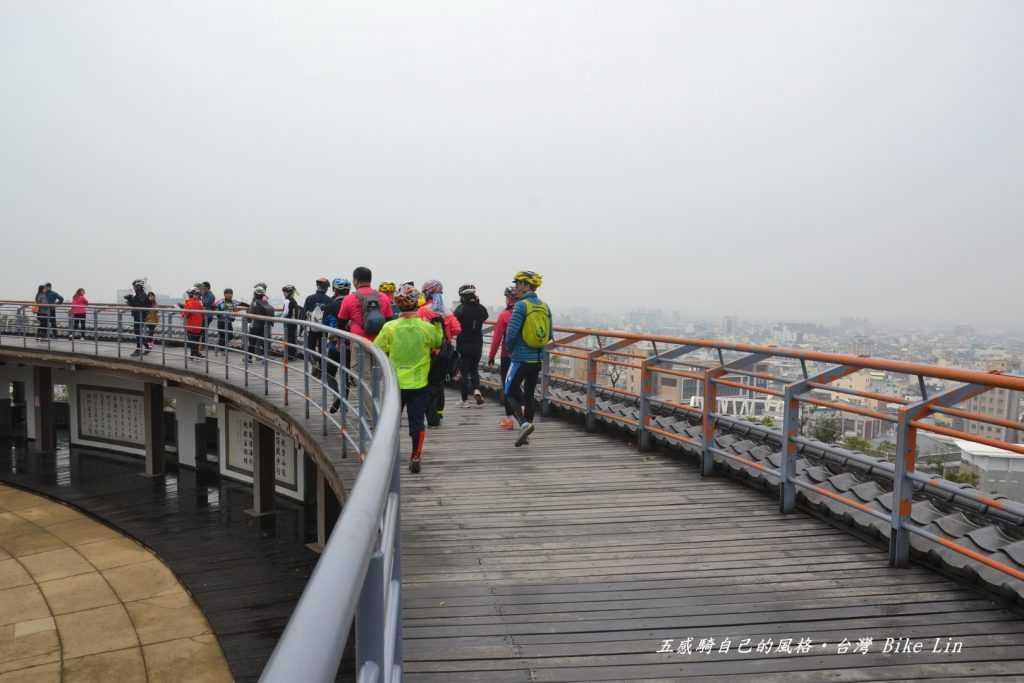 站在彰化天空步道向近三百年彰化城致敬