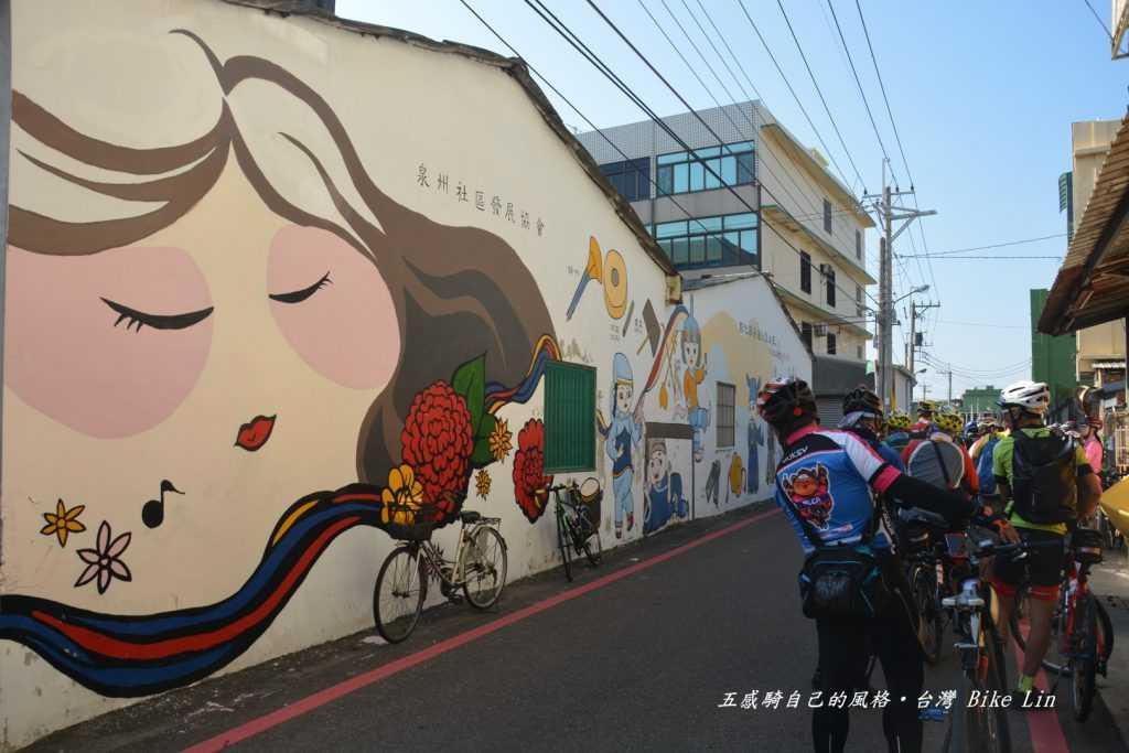 泉州村高甲戲彩繪牆