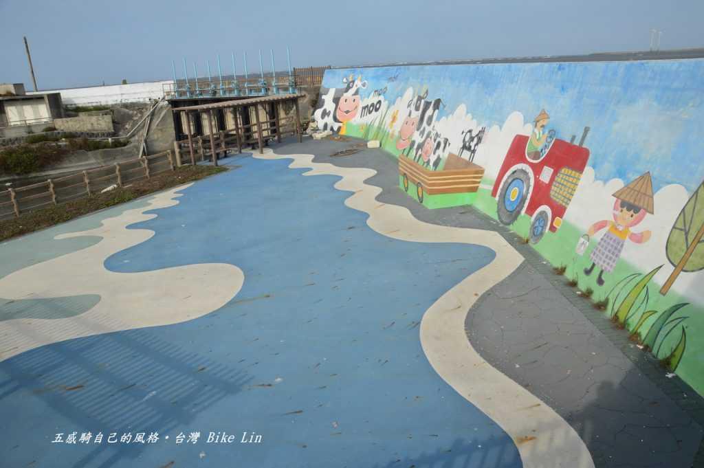 福寶濕地彩繪牆