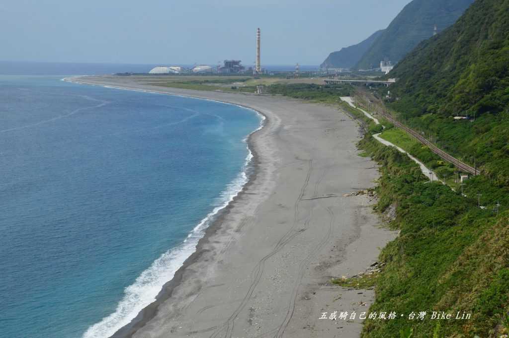盡可能鳥瞰大濁水溪出海口、漢本海岸