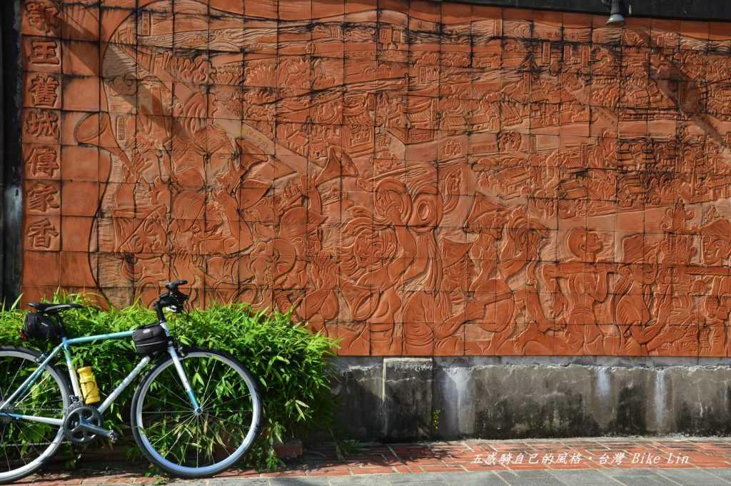 鄂王舊城傳家香磚牆