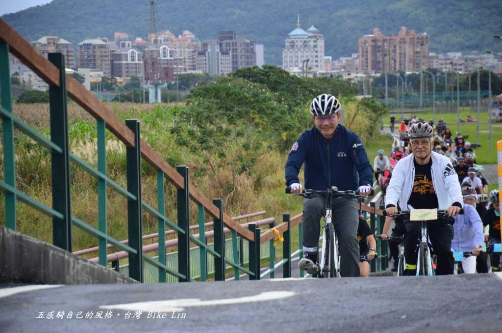 部長這一大步蹬上來宣示著「2021台灣自行車旅遊年」