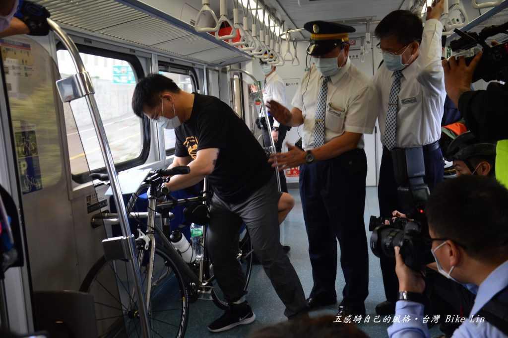 親自體驗兩鐵旅行上火車