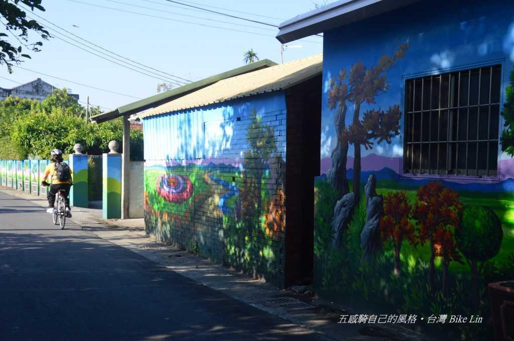 西園醬油工廠彩繪牆