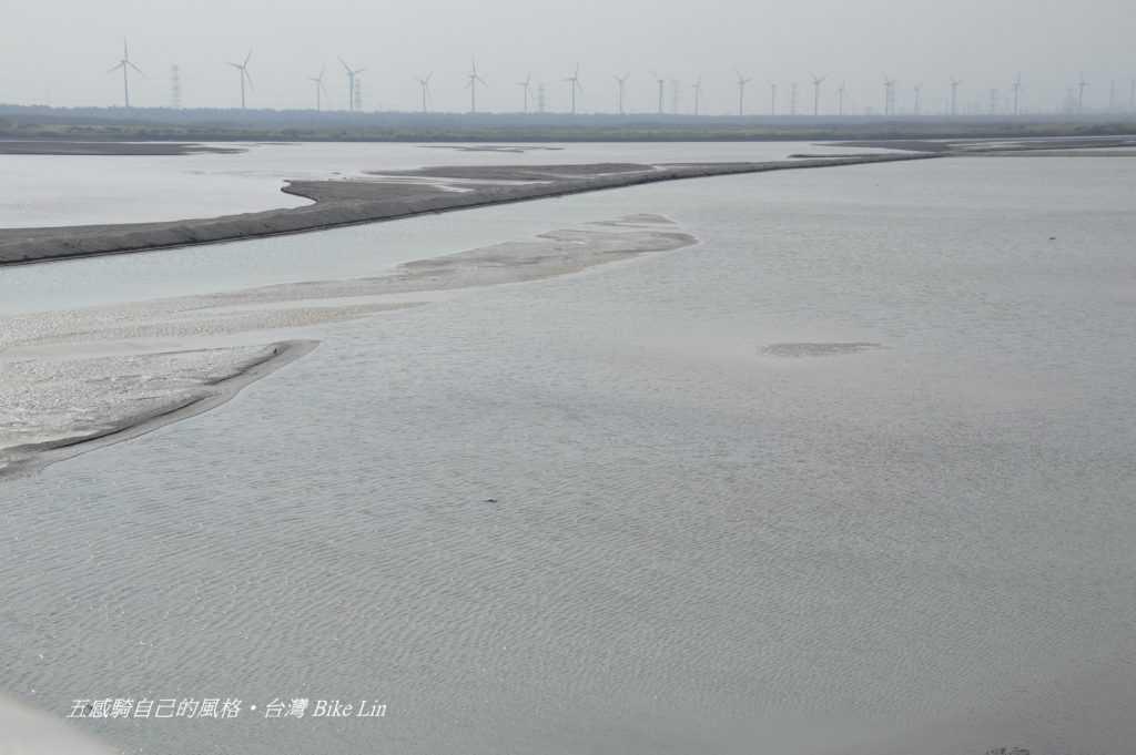 台17西濱大橋上遙望最後一眼寬闊濁水溪