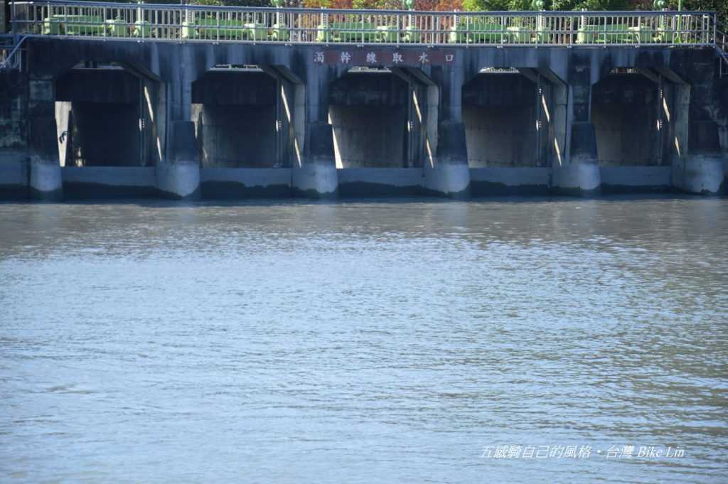 濁幹線取水口