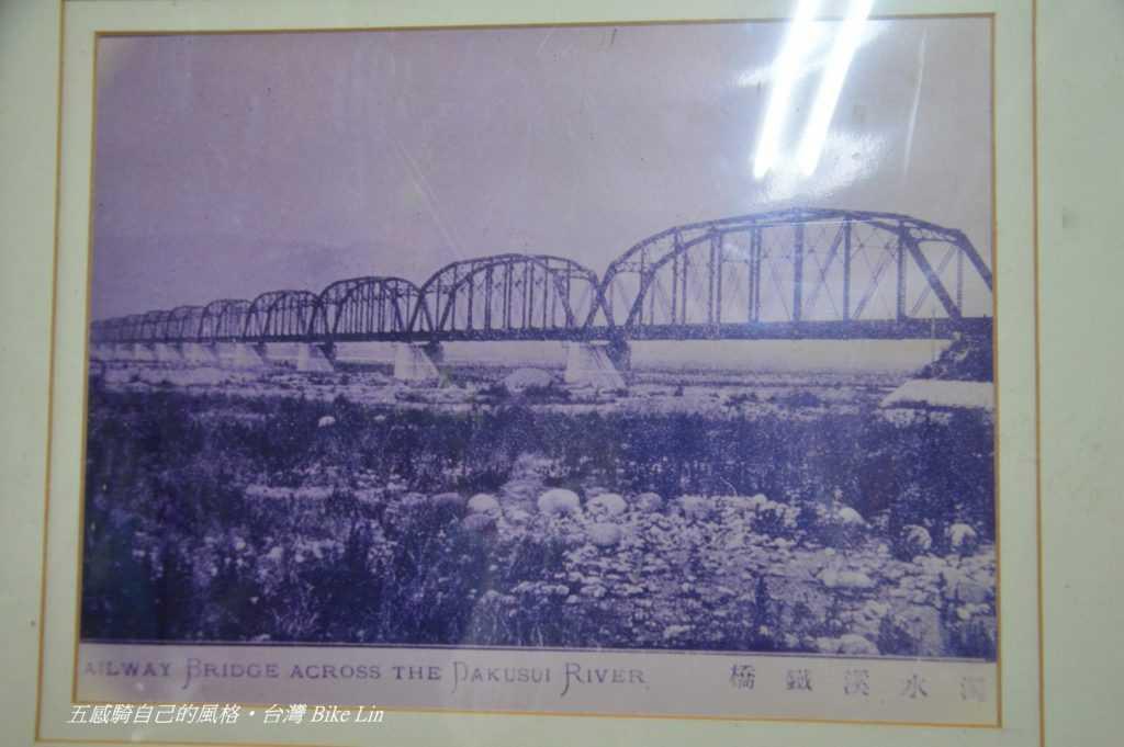 珍貴1907年第一代縱貫鐵路濁水溪橋
