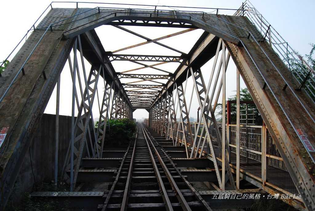 2008年分段環島水災與颱風尚未侵襲斷橋