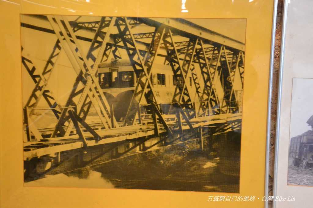 1931年ㄟ過虎尾溪鐵橋