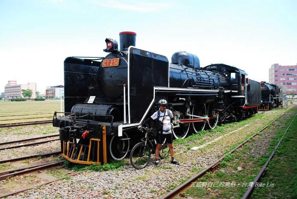 1938年臺鐵引進9輛CT250型蒸汽機車之一