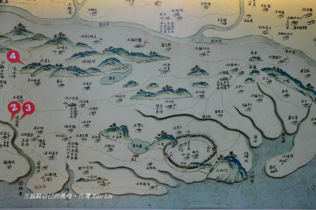左營舊城古地圖印證在「高雄歷史博物館」