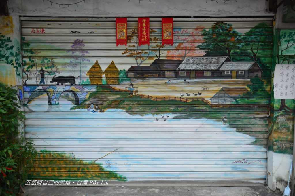 內埔老街裡引人入勝彩繪