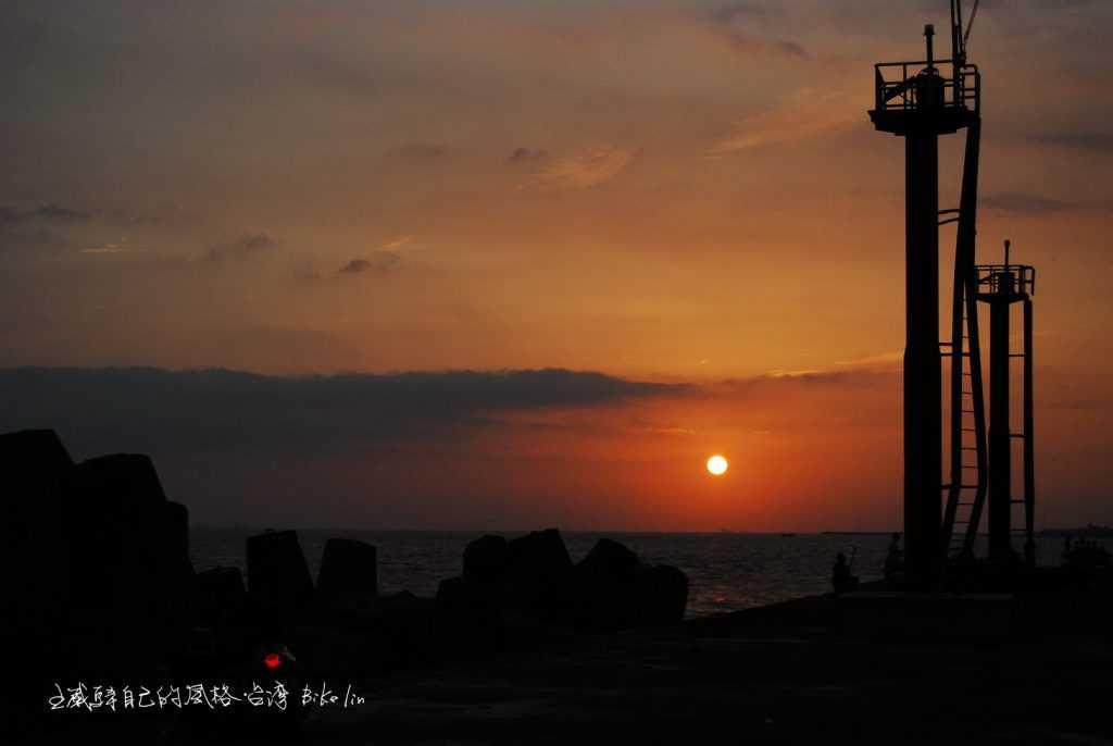 東港海之坵夕照