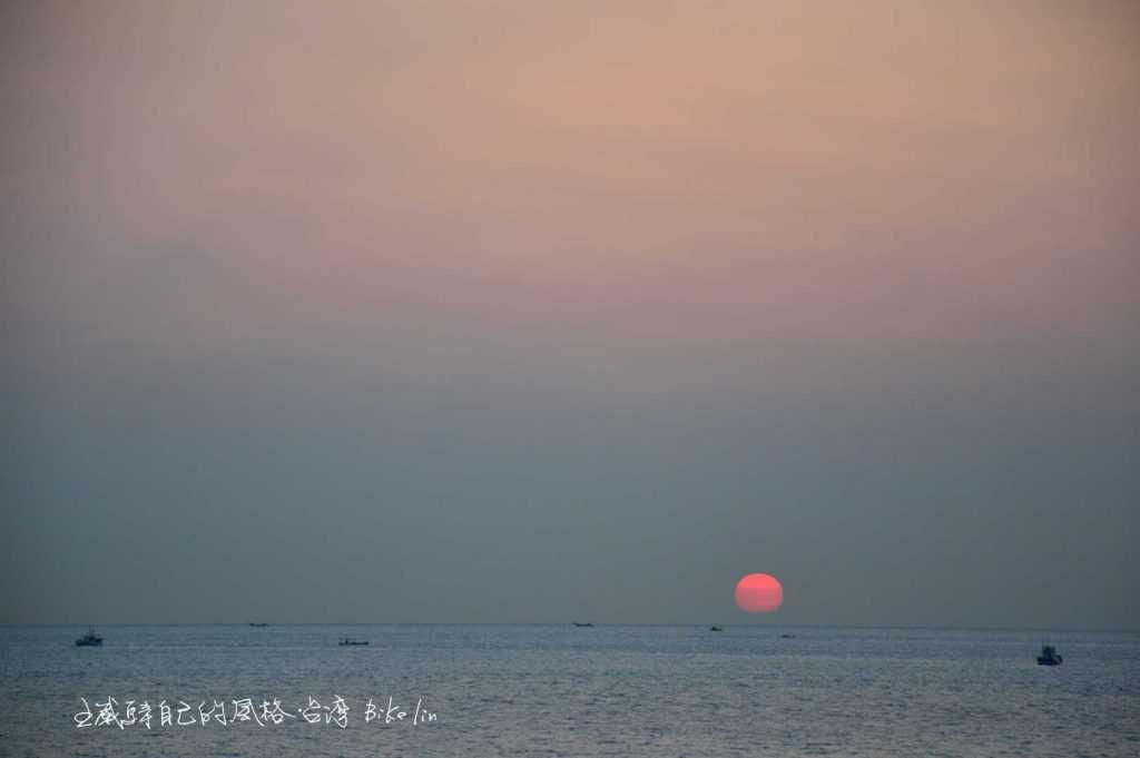 海之坵東港夕照
