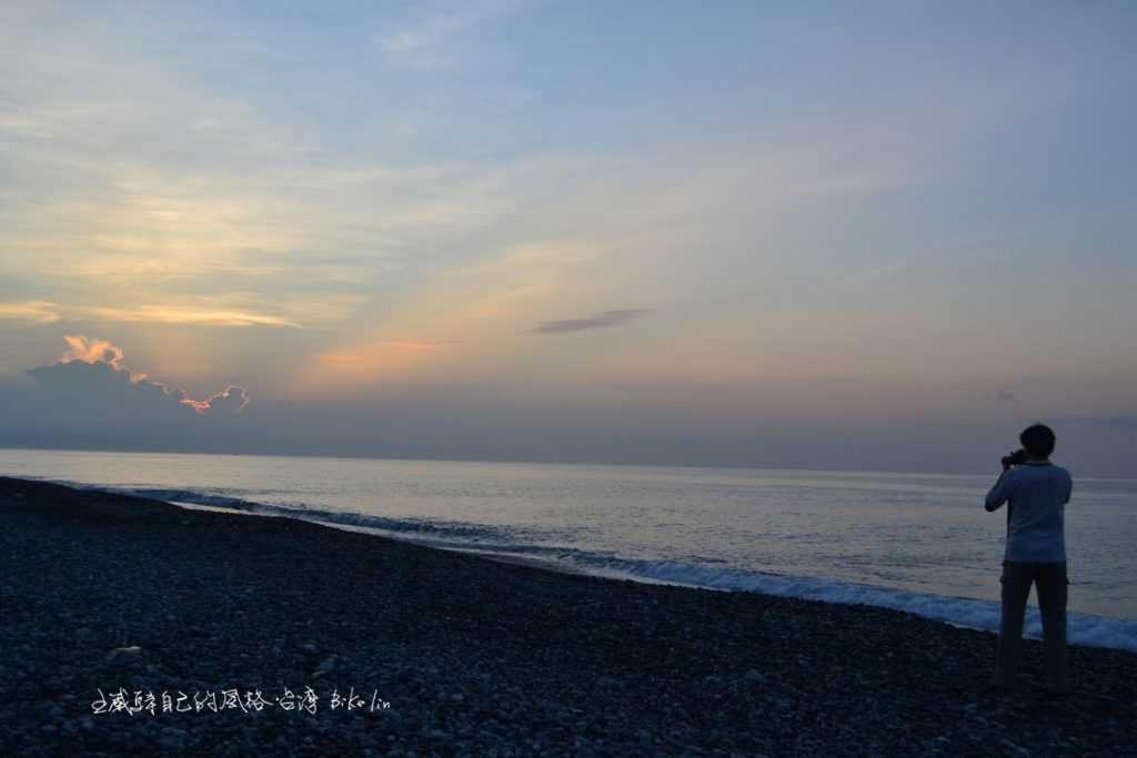 Phil曼波海灘日出