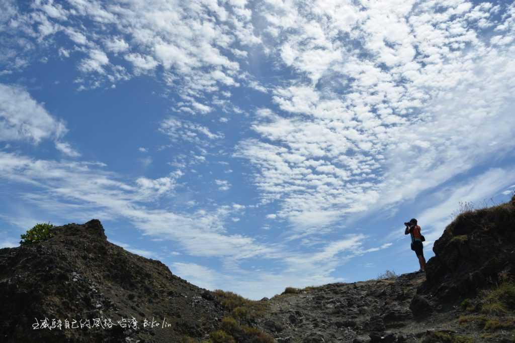 火山岩體聎望,風雲變幻的美