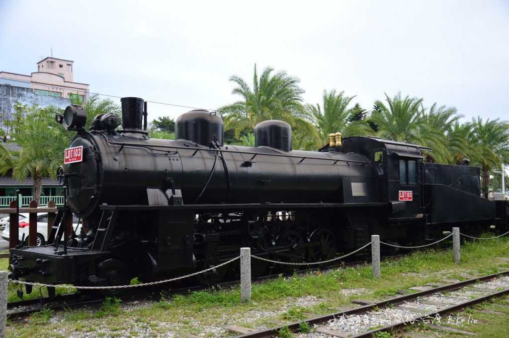 最亮眼的LDT103窄軌蒸汽火車頭