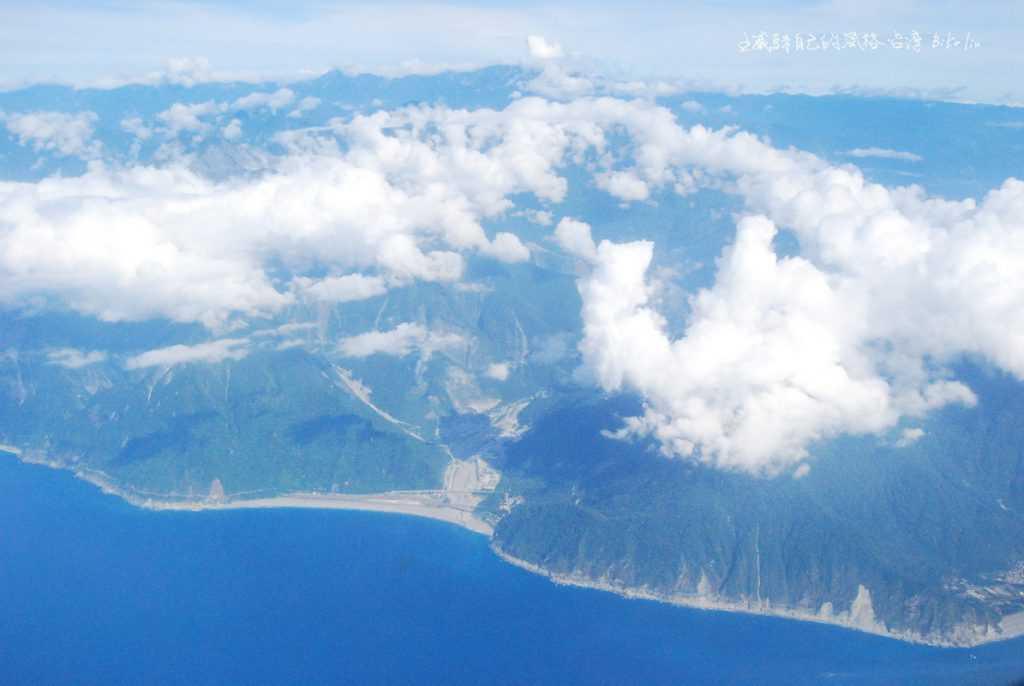 空中鳥瞰蘇花公路