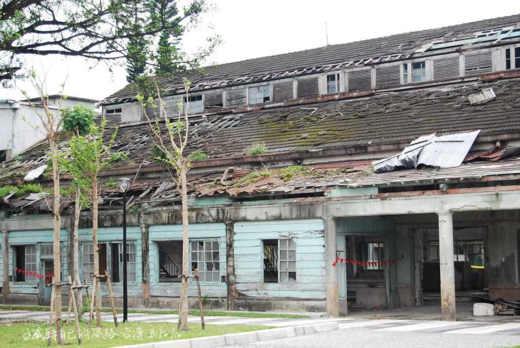2009年「舊花蓮酒廠」廢墟般原味的遺跡